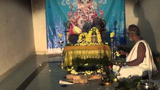 Ucchista Navarnava Ganapathy and Haridhra Ganapathy Homam Part 1