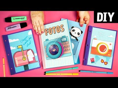 DIY Scrapbook ? ? Faça um Álbum de Fotos Divertido