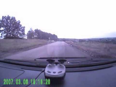 авария поворот на Успенку