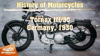 Tornax III/30 1000cc | 1930, Germany. Review & test-drive.