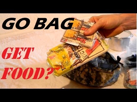Bug-out Bag / Go Bag survival gear review 7 of 10:  Food, hunting, fishing, trapping, meal bars