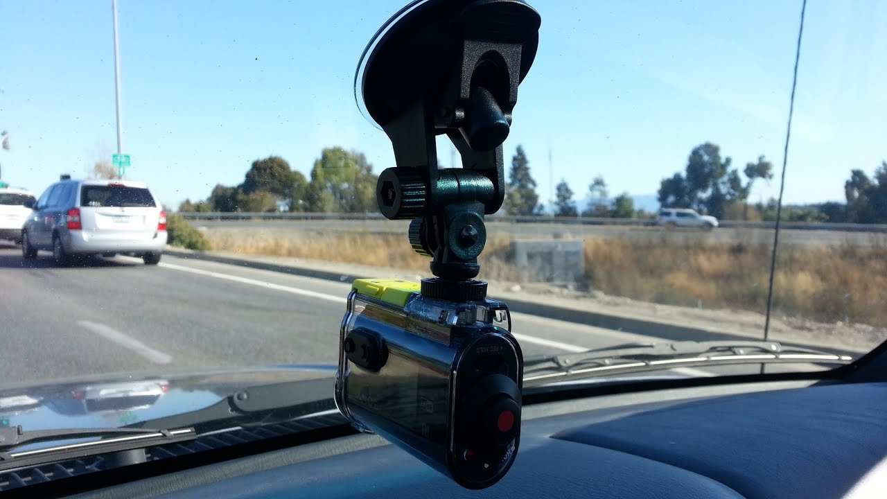 Sony Hdr As30v 120 Degree Car Window Suction Cup Mount