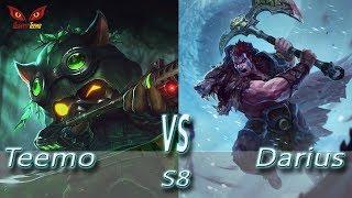 Omega Teemo vs Darius - S8 Ranked Gameplay (Season 8)