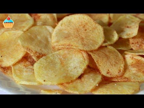 Как готовить домашние чипсы - видео