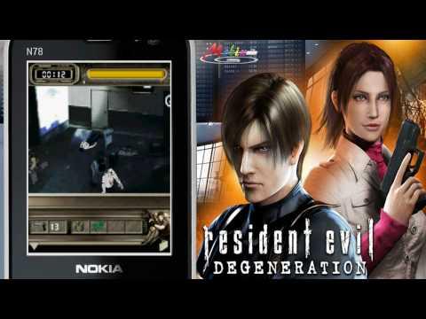 [HD] 3D Resident Evil Degeneration Java Mobile Game