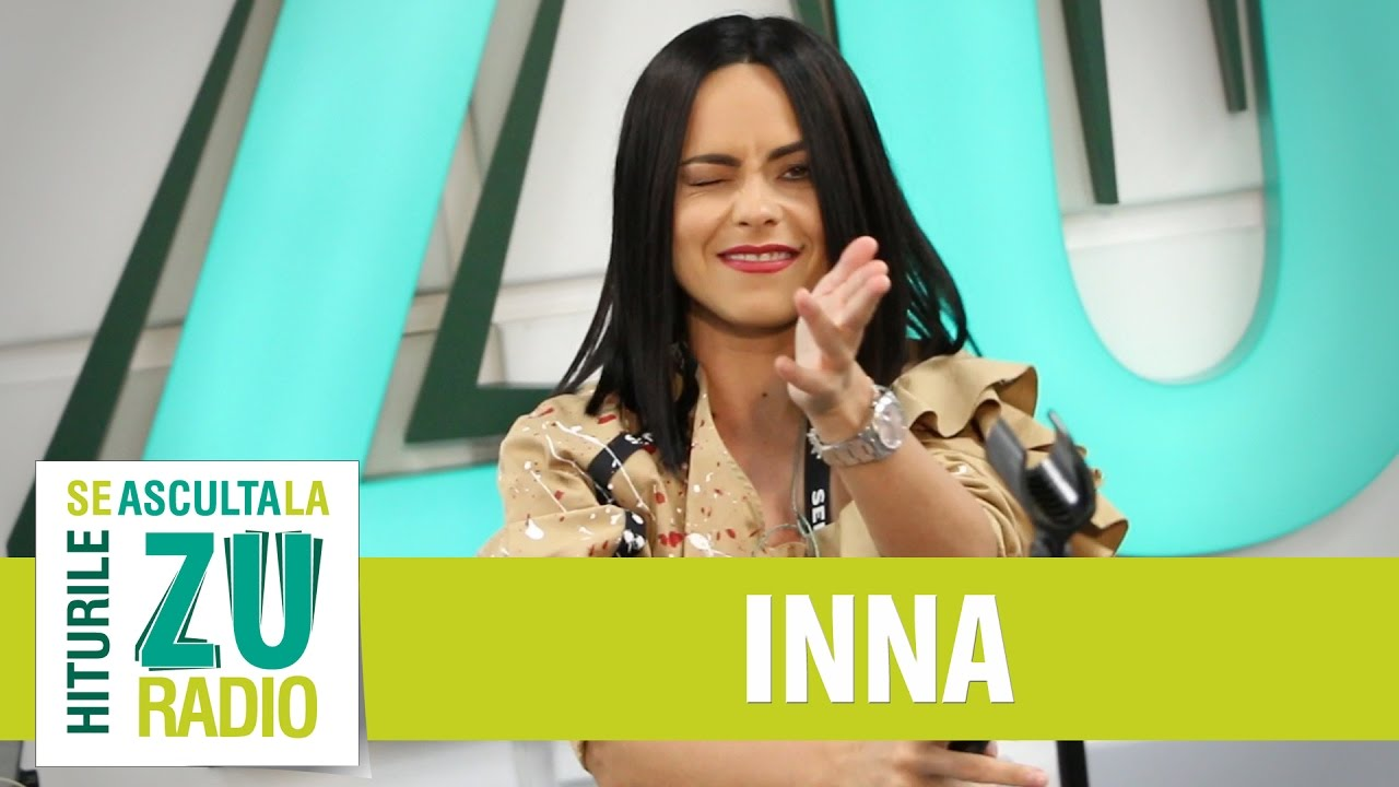 INNA - Gimme Gimme (Live la Radio ZU)