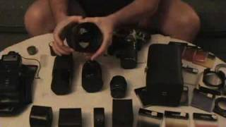 Pentax ME Super camera package.flv