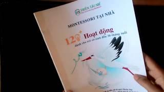 [ FULL] Cuốn 120 hoạt động Montessori tại nhà cho trẻ dưới 30 tháng tuổi - Thiên Tài Nhí