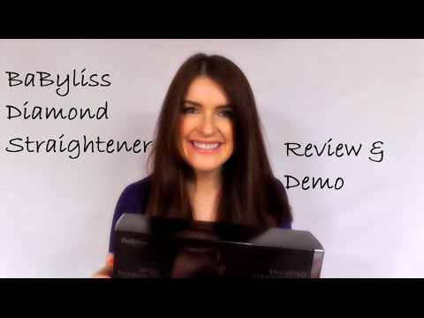 Babyliss Diamond Straightener Review / Demo