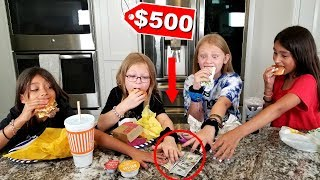 LAST One To EAT Food WINS $500 Challenge!!!