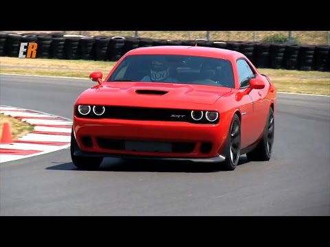 2015 Dodge Challenger SRT Hellcat  707 HP - Road and Track Test Drive with Smoke Show