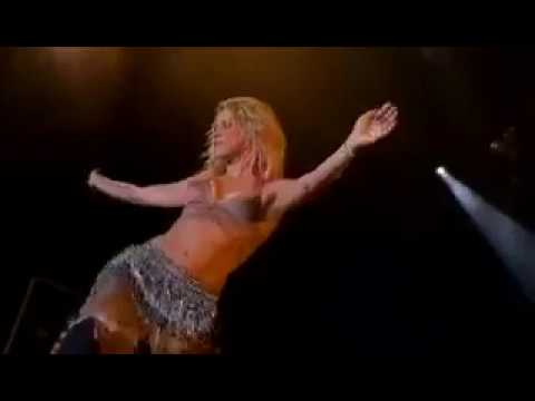 Shakira belly dance live performance HD 1080p