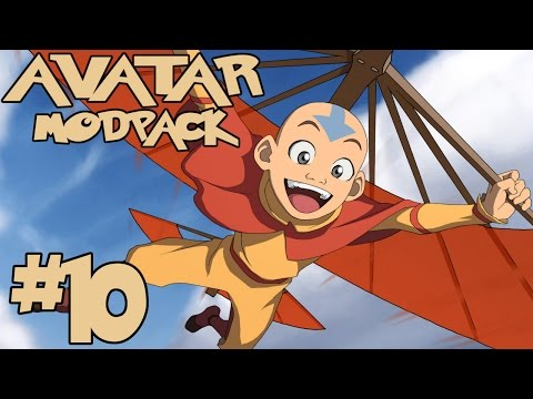 TO THE SKY!    Avatar Modpack Episode 10 (Minecraft Avatar Mod)