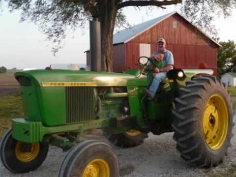 2011 Spring Planting big Green Tractor Style video