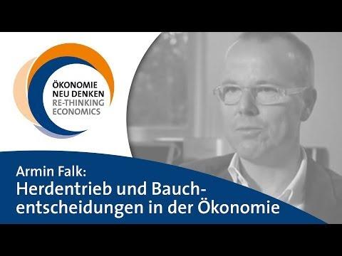 Gesellschaft Ökonomie Armin Falk Interview 2011