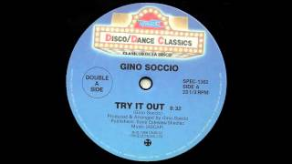 Watch Gino Soccio Try It Out video