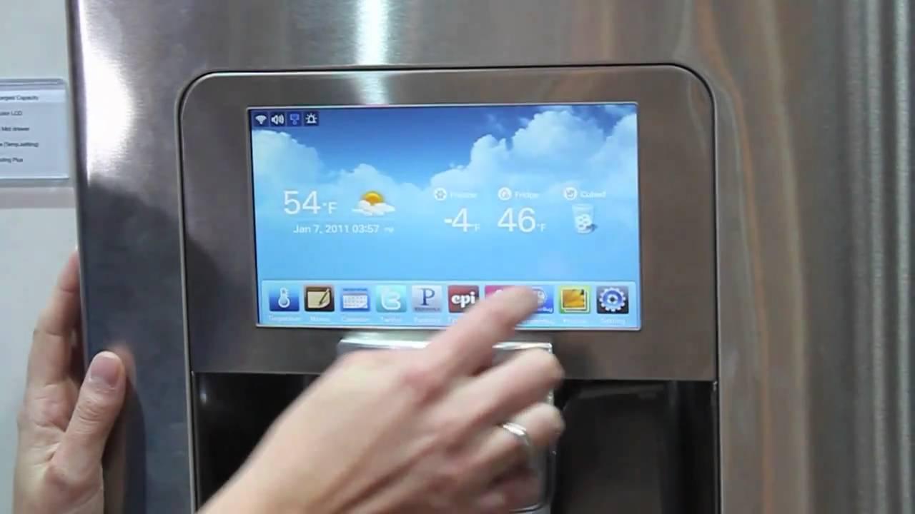 Ces 2011 Samsung Wi Fi Enabled Fridge Tekgoblin Com
