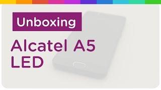 Alcatel A5 LED - Unboxing