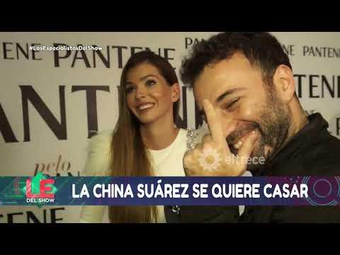 Ante el silencio de Pampita, La China Suárez habló hasta de su casamiento con Vicuña