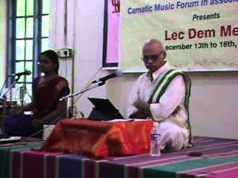 December Season 2013 - Dr. Pappu Venugopal Rao Lecdem On 14.12.13 At Shastri Hall video