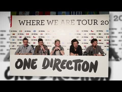 One Direction Announces Locations of their World Arena Tour - Splash News
