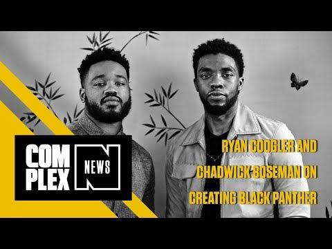 Ryan Coogler And Chadwick Boseman Discuss Crafting Black Panther