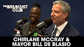 Mayor Bill de Blasio & His Wife Discuss Community Policing, Mental Health & More