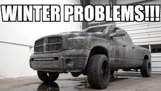 I CAN'T BELIEVE WE LET THIS HAPPEN TO OUR CUMMINS!!!! WINTER STRIKES BACK!!!