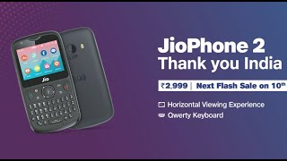 Jio Phone 2: Unboxing, First Look, Hands-on, Price, Whatsapp, Youtube, 4G phone with Kai OS