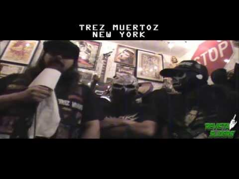 TREZ MUERTOZ Entrevista para REVISTA SLIDERS