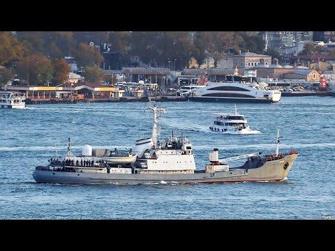 У Босфора затонуло российское разведсудно Лиман | НОВОСТИ