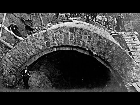 Железные дороги не строили, а ОТКАПЫВАЛИ!