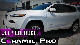 Jeep Cherokee 2017 года защищен составами  Ceramic Pro