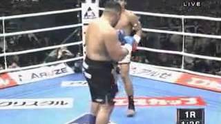 Kaoklai vs  Mighty Mo (best ever KO)