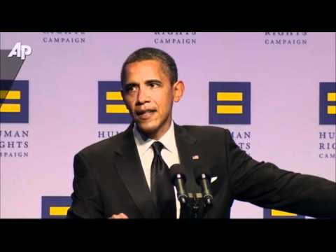 Obama Hits GOP Candidates on Gay Rights