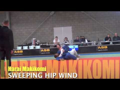 Harai Makikomi JUDO SWEEPING HIP WIND Image 1