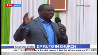 DP Ruto attends PAG church service in Jericho