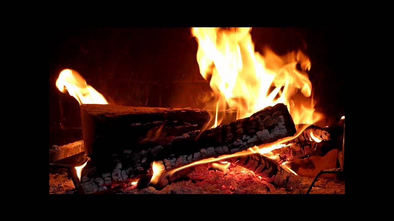 Ambiance feu de cheminee crepitement kamin chimney fireplace flamme y - Image feu de cheminee ...