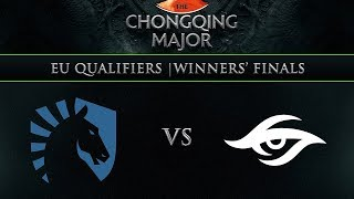 Liquid vs Secret Game 3 - Chongqing Major EU Qualifier: Winners' Finals w/ KillerPigeon, NahazDota
