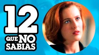 12 Cosas que No sabias de THE X FILES