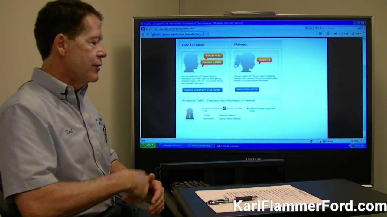 how to use ford sync traffic alerts youtube. Black Bedroom Furniture Sets. Home Design Ideas