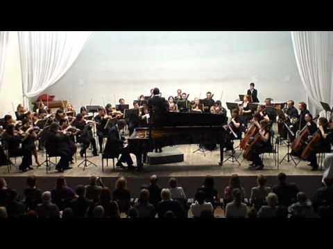 Boris Berezovsky plays Brahms Piano Concerto no. 2 , part 1.