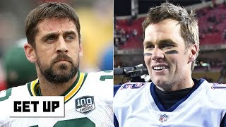 Should Tom Brady and Drew Brees outrank Aaron Rodgers? | Get Up
