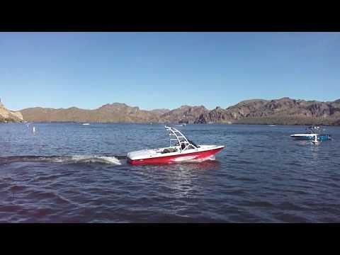 2006 Sanger V210 Lake Test Saguaro Lake Boulder Boats