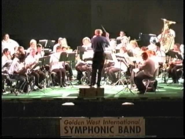 2001 Golden West College Symphonic Band The Fair in Italy Concert