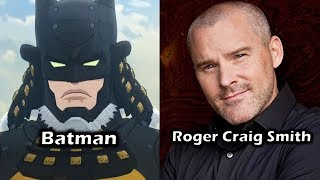 Characters and Voice Actors - Batman Ninja