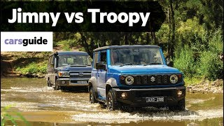 Suzuki Jimny vs Toyota Land Cruiser Troopy 2019 off-road review