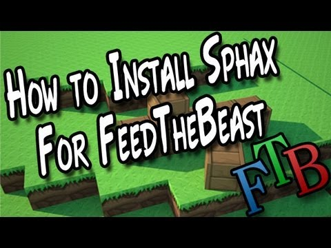 How to install Sphax PureBDcraft for Feed the Beast / YogCraft / Direwolf20 / Mindcrack
