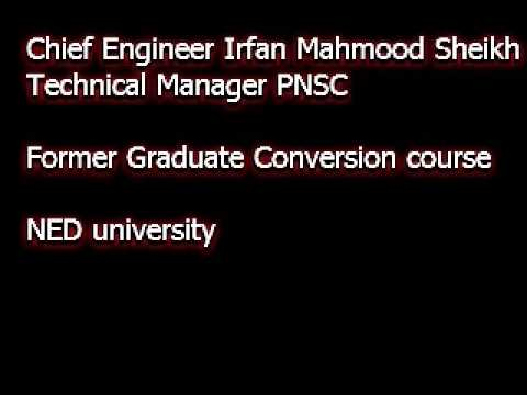 Pakistan Marine Academy Part 3/5 - NED UET Maritime Education upgradation