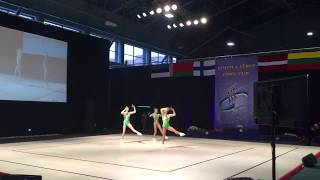 Sport aerobics AG2-TR trio from Russia Kohtla-Jarve Open Cup 2017
